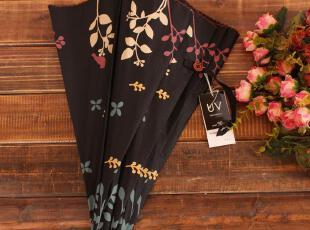 日系美伞 w.p.c蕾丝边二折抽拉鸟语花香防晒伞 防紫外线伞,伞,