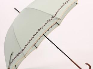 日系 蕾丝边刺绣工艺长柄伞 晴雨伞 公主范,伞,
