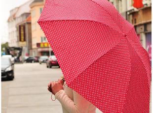 默默爱♥持续的旅程 简洁大方 3折双人伞/折叠伞/晴雨伞防紫外线,伞,