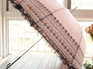 长柄伞防紫外线防晒阳伞蕾丝伞拱形公主伞晴雨伞超强遮阳伞太阳伞,伞,