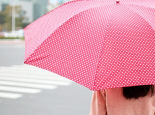 懒角落★创意家居 中波点 迷你铅笔伞 遮阳伞/折叠伞/晴雨伞35297,伞,