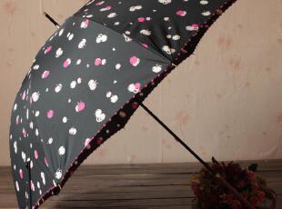 日系 象牙边 樱桃 公主伞 晴雨伞 防晒伞 防紫外线 1995日币 雨伞,伞,