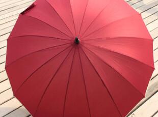 限时特价 16骨包边自动伞 长柄伞 雨伞 大伞面 抗风 送伞套,伞,