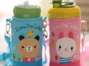 可爱卡通动物保温包 水壶包  带绳可背的 2款选,保温袋,