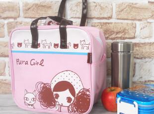 可爱卡通饭盒包 便当包 帆布小拎包 午餐包 饭盒袋 手提购物方包,保温袋,