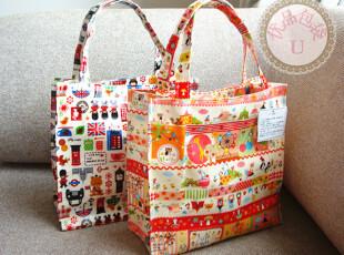 优品包袋 日本卡通可爱动物PVC防水 手提 便当包 饭盒袋 饭盒包,保温袋,