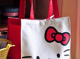 低价热销HELLO KITTY 可爱牛津布饭盒袋 午餐包 便当袋 饭包 饭袋,保温袋,