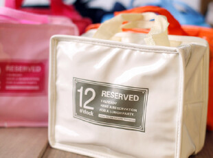 zaa杂啊 夏日保温便当包饭包 日本冰冻保温包 可折叠便携收纳袋,保温袋,