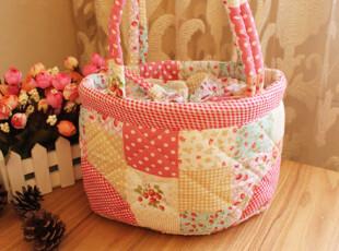 蒂亚娜 甜心草莓布艺便当饭盒保温袋包饭盒包便当包可爱收纳袋,保温袋,