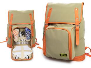 易威斯堡 户外 双肩背包 情侣 野餐包 保温包 带餐具防水垫 特价,保温袋,