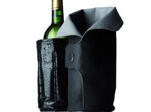 丹麦MENU原装进口正品 葡萄酒红酒保冰保温袋+酒温计两件套装,保温袋,