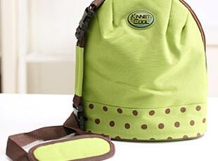懒角落★绿色 防水便携午餐旅行 保鲜保温袋便当包饭盒袋 13078,保温袋,