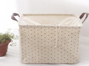可立棉麻杂物收纳袋 可遮盖 内衣收纳 防尘 布艺 zakka 杂货,内衣盒,