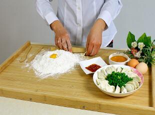 双*楠竹水饺板案板切菜板揉面板擀面板和面皮板刀板ZB6615竹砧板,刀架和砧板,