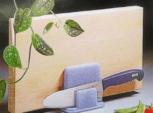 日本进口【生活锦囊】多功能菜板架塑料刀架创意厨房收纳用品,刀架和砧板,