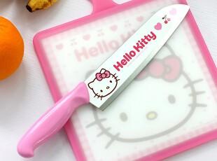 「朱朱家园」韩国直送*HELLo KITTY *卡通迷你抗菌菜板,刀架和砧板,