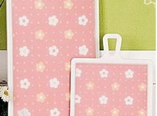 「朱朱家园」韩国直送*可爱小花朵抗菌菜板套装ck243,刀架和砧板,