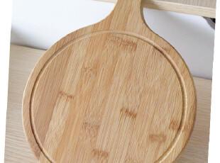 圆形竹制砧板 抗菌水槽菜板 面包板 水果板 双面切 高温防裂,刀架和砧板,