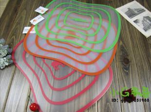 外贸正品 创意家居 菜板 餐垫 水果垫 桌垫 大号 四色入,刀架和砧板,