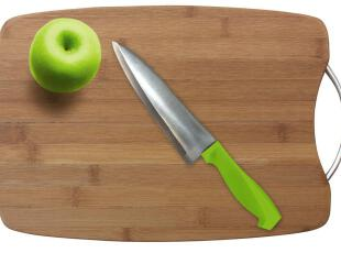 蓝格子 纯天然环保楠竹菜板/竹砧板/实木 切菜板 韩国菜板,刀架和砧板,