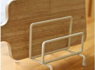 【韩国进口家居】A715 防止发霉*简约白色金属砧板架子,刀架和砧板,