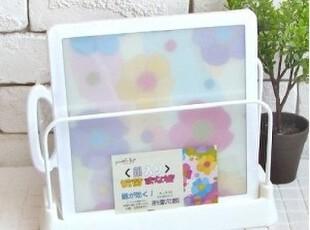 「朱朱家园」韩国直送*简洁全白色 滴水菜板座 托盘托ck567,刀架和砧板,