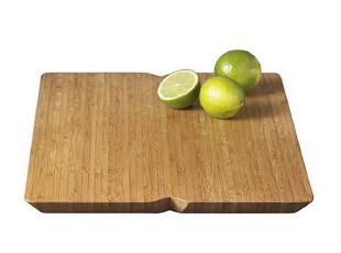 丹麦Rosendahl 豪华系列Bamboo竹制大砧板 25665 实拍图,刀架和砧板,
