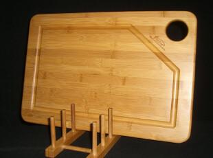 皇冠促销特价 秒杀!外销精品炭化竹砧板 水槽竹砧板切菜板(大),刀架和砧板,
