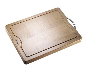 欧美达 厨房用具天然榉木抗菌切菜板 水槽实木砧板木案板 包邮,刀架和砧板,