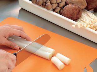 日本进口inomata 砧板 超薄软菜板 切菜板 蔬菜专用 厨房用品菜板,刀架和砧板,