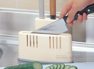 日本进口inomata厨房两用式砧板架 刀架 收纳整理架 沥水06503,刀架和砧板,