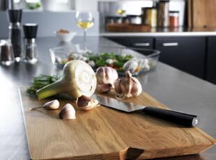 丹麦Rosendahl 长方形竹制砧板/菜板 大号25665,刀架和砧板,