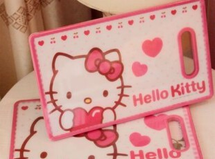 可爱实用哈 KT kitty猫磨砂面菜板 切菜板 砧板,刀架和砧板,