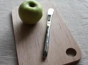 榉木 圆孔长方小砧板 小面包板 水果板 樱桃logo,刀架和砧板,