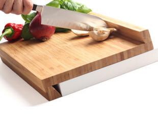 芬兰 Magisso 吸附式菜板 竹制创意案板/菜板,刀架和砧板,