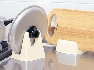 日本进口锅盖架 厨房置物收纳架 菜板架 砧板架子 锅立架 砧板架,刀架和砧板,