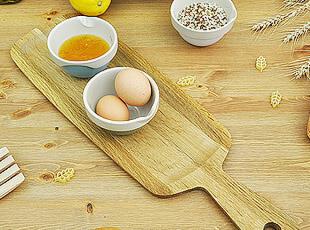 杰米.奥利弗 Jme 橡木 长条面包板/砧板/水果板 可做茶盘 寿司盘,刀架和砧板,