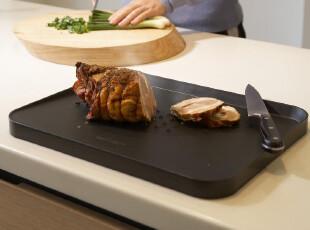 英国Joseph原装进口 多功能创意双面防漏汁设计 斜面案板菜板砧板,刀架和砧板,