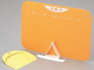 日本川崎制 橙色抗菌菜板/砧板送架子和小铲 配合京瓷陶瓷刀,刀架和砧板,