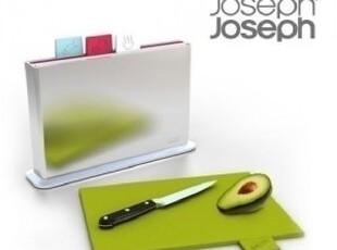 韩国原装进口 厨房储物 Joseph Joseph 菜板/砧板/菜板盒5件套装,刀架和砧板,