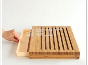意大利 Alessi Sbriciola 竹砧板/面包板 GAG02,刀架和砧板,
