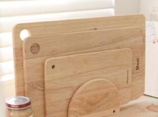 【韩国进口家居】X956 健康生活*实木分类砧板三件套+砧板架,刀架和砧板,