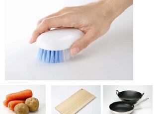 日本Aisen厨房清洁刷 蔬菜清洗刷 菜板清洗刷 锅刷 带支架 可站立,刀架和砧板,