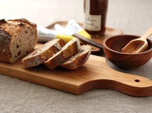日本  ZAKKA   长款木砧板 面包垫板 大号 预订,刀架和砧板,