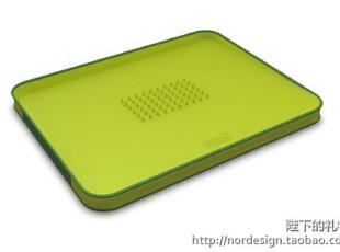 英国 JOSEPH JOSEPH 创意斜面多功能菜板 绿色,刀架和砧板,