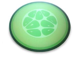 英国Joseph Joseph 多彩强化玻璃菜板砧板 黄瓜,刀架和砧板,
