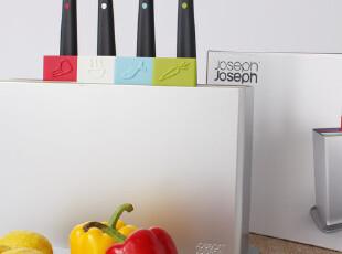 英国Joseph Joseph 科学分类砧板/菜板+**九件套INDP0100CB,刀架和砧板,