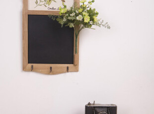 ZAKKA杂货 原木小黑板 留言板  家居挂件 怀旧装饰品,创意礼品,