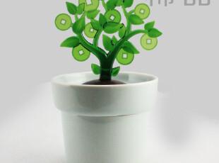 台湾设计金钱树步步高深储蓄罐 创意陶瓷大号存钱罐 送朋友的礼物,创意礼品,