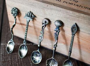 INCAFE |复古宫廷冰激凌勺 怀旧勺子 仿古勺子 咖啡勺 杂货 铁勺,创意礼品,